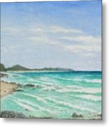 Second Bay Coolum Beach Metal Print