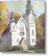 Second Congregational Church Metal Print
