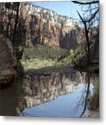 Second Emerald Pool Metal Print by Kenneth Hadlock