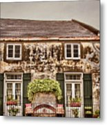 Second Story Cottage Metal Print