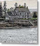 Second Story View Metal Print