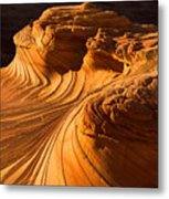 Second Wave Metal Print