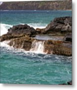 Secret Beach Metal Print