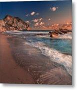 Secret Beach Greece Metal Print