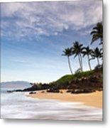 Secret Beach Maui Sunrise Metal Print