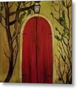 Secret Door Metal Print