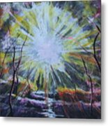 Secret In The Forest Metal Print