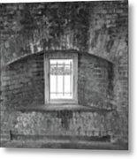 Secret Window Metal Print