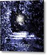 Secrets Christmas Card  Metal Print