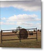 Secure Fence Metal Print