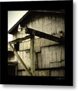Security Light Metal Print