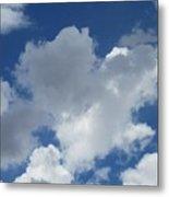 Sedona Heart Cloud Metal Print