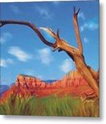 Sedona Red Rock Country Metal Print by Bob Salo
