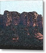 Sedona Rock Formation Metal Print