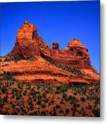 Sedona Rock Formations Metal Print
