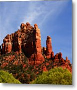 Sedona Rocks Metal Print