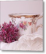 Sedum Flower Still Life Metal Print