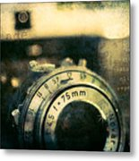 See Breathe Exhale Click Repeat Metal Print
