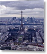 See Paris As Birds Do Metal Print