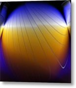 See Thru Shapes Metal Print