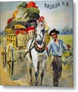 Seed Company Poster, C1880 Metal Print