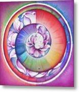 Seed Of Life - Mandala Of Divine Creation Metal Print