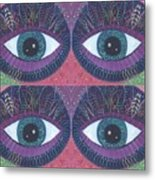 Seeing Double - Tjod 38 Compilation Metal Print