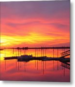 Seeing Is Believing Metal Print