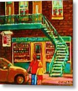 Segal's Fruit And Variety Store Metal Print