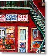Segal's Market St.lawrence Boulevard Montreal Metal Print