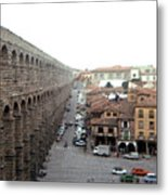 Segovia Aquaduct Metal Print