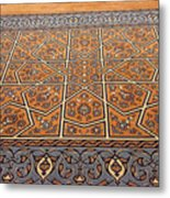 Sehzade Mosque Prayer Carpet Metal Print