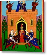 Seige Of The Castle Of Love Metal Print