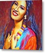 Selena Queen Of Tejano  Metal Print