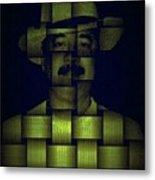 Self - Portrait Metal Print by Teodoro De La Santa