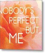 Self-love - Rose Flower Metal Print