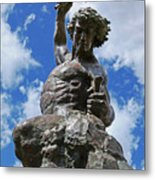 Self Made Man Lighter Version Metal Print by Sheila Kay McIntyre