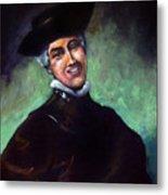 Self Portrait A La Rembrandt Metal Print