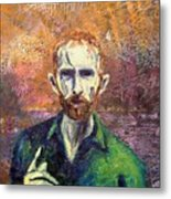 Self Portrait Metal Print by John  Nolan