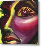 Self Portrait Metal Print by Suzanne  Marie Leclair