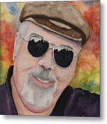 Self Portrait With Sunglasses Metal Print