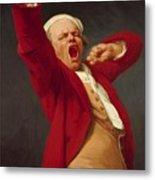Self Portrait Yawning 1783 Metal Print