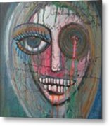 Self Portrait  Youre Beautiful Metal Print