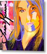 Self Portraiture Digital Art Photography Metal Print