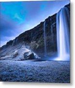 Seljalandsfoss Iceland Metal Print