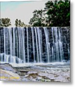 Sells Mill Waterfall Metal Print