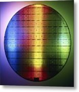 Semiconductor Wafer Metal Print