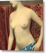 Semin Nude Girl Metal Print