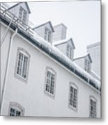 Seminary Of Quebec City In Old Town Metal Print