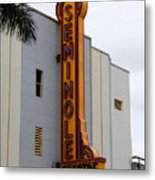 Seminole Theatre 1940 Metal Print by David Lee Thompson